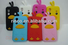 3D Cute Chick Soft Silicone Case Cover Skin For Samsung Galaxy Ace S5830 Case