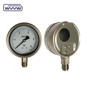2016 Factory price differential oil pressure gauge manometer