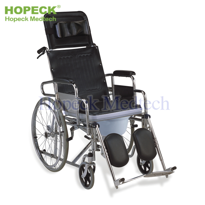 Commode Wheelchair(Stroke/Pamplegia/Paralysis/Gatism)