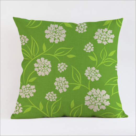 OEM printing throw pillow, cotton canvas pillow case