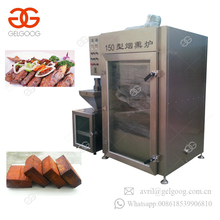 Automatic Electric Stainless Steel Sausage Smokehouse Chicken Meat Smoker Fish Smoking Machine For Sale