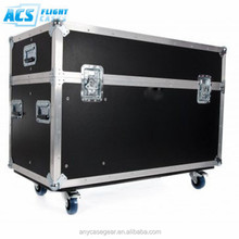 2015 ACS newest style plasma tv cases aluminum display flight case with insert foam/flight case for sale