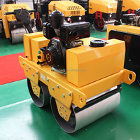 Diesel Walk behind Vibrating Mini Road Roller for Sale (FYL-S600C)