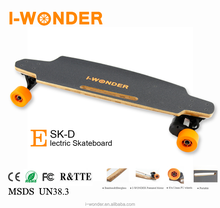 [Retail]I-WonderSK-D2 Electric Skateboard Dual Motor 1200W DC Brushless Motorized/Hall Sensor/Wireless Remote Control