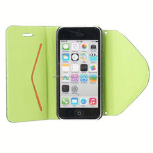 made in china leather case for iphone 5c moldable cellphone case