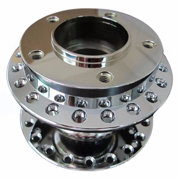 custom CNC machining bicycle wheel hub
