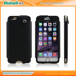 Drawer type PU leather cell phone case for iphone6