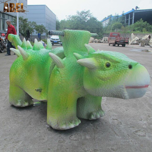 Ride on toy style removable animatronic animal rides