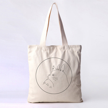 Eco-friendly reclaimed new custom printing cotton bag with logo