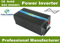 EC Approved, solar power pure sine wave inverter for home use 12v 240v 5000w , one year warranty