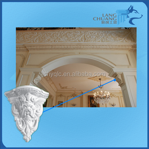 Salable Moisture-proof Gypsum Products Corbel Design