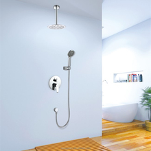 Ceiling Mounted Rain Shower Head Concealed Mixer