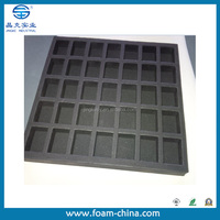 custom eva pe foam insert case foam for packaging High density low density
