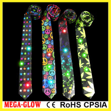 wholesale Birthday party supplies, led flashing neck tie, Christmas decoration