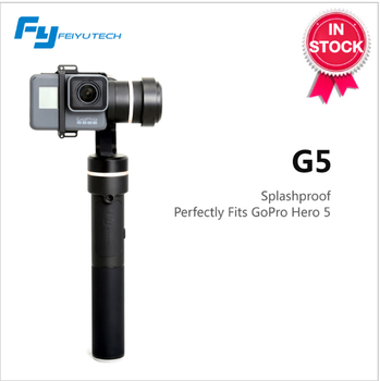 FeiyuTech G5 gimbal 3-Axis Rainproof Gimbal with 310degree tilting, 310degree rolling for both Hero5 and other similar size Cams