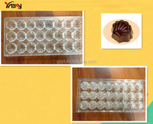 Scalloped Shell Candy Molds Polycarbonate Chocolate Molds