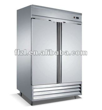 Commercial Kitchen vertical Freezer/Kitchen freezer stainless steel freezer refrigerator