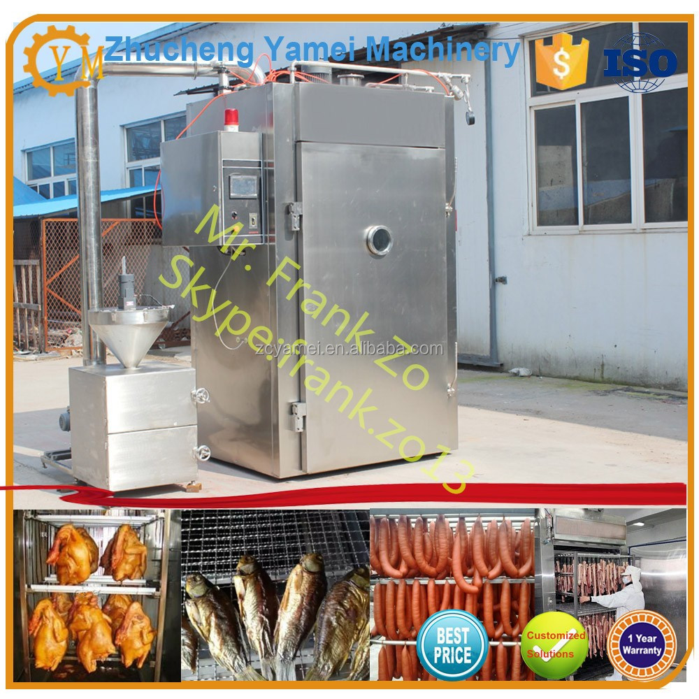 Stainless steel chiken smoke house