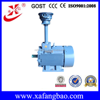 china explosion electric motor for fan 45kw ac 3 phase motor 585r/min