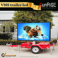 SMD p6, p8, p10 full color Mobile truck / trailer advertising p8 outdoor led display/led screen/led screen