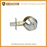Entrance one-side deadbolt lock