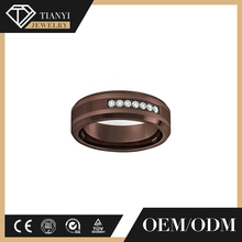 New style fashion jewellry engagement men hot sale finger fashion tungsten carbide wedding ring