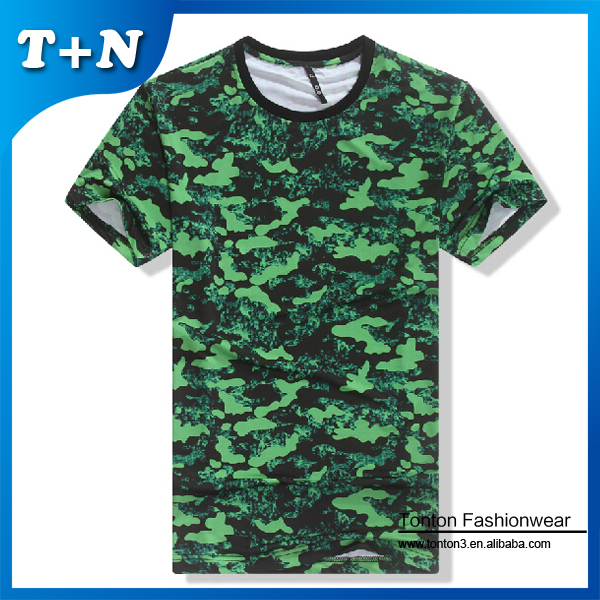 cut and sew hip hop sublimated custom t-shirt printed wide neck men