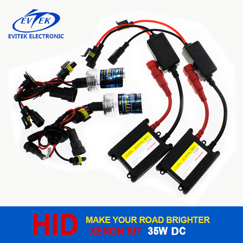 25W HID Xenon Kit with Slim AC/DC Ballast from Evitek