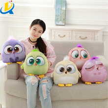 Wholesale soft cute birds pillow good quality turkey plush stuffed toy