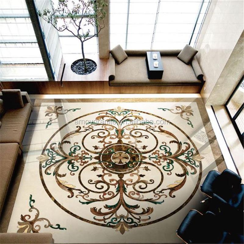 Marble Tiles Inlay : Marble elevator floor with design flower pattern buy