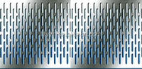 316 1mm thick stainless steel perforated plate