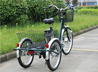 2014 new big wheel electric mobility tricycle for elder