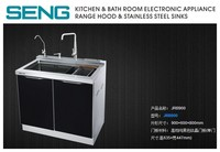 kitchen cabinet with stainless steel sink faucet integration kitchen sink