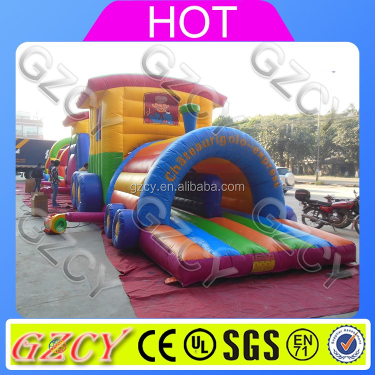 Inflatable challenge obstacle/adult running inflatable game/obstacle course combo