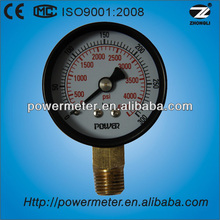(Y-50A) High quality 50mm Mpa common pressure gauges for furnace