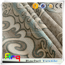 Soft heavy chenille fabrics- classic jacquard European design luxury fabric for living room bed room upholstery curtain