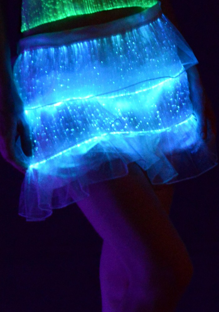 2015 hot sales belly luminous dance wear china