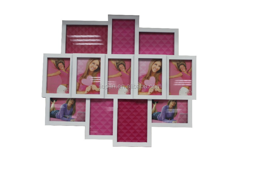 BABY FIRST YEAR COLLAGE PHOTO FRAME WITH 12 PHOTOS