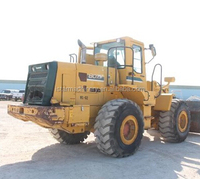 strong power KAWASAKI 80Z wheel loader used japan made loader for sale
