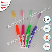 colorful utral soft bristle oral chewing adult toothbrushes