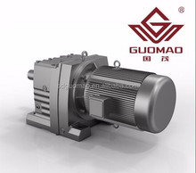 helical gear reducer for industrial transmission
