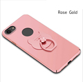 Fashion Multicolor Full Cover Cell Phone Case with Ring buckle for iPhone 7 / 7plus / 6