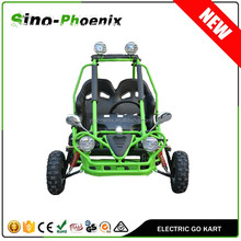Top quality low price 450W 36v/20Ah Kids electric off road go kart for sale pass CE certificate ( PN-450GK )