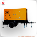 75KW Trailer diesel generator engine 6BT5.9-G2