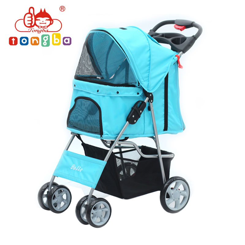 Fashionable Foldable Pet Stroller Pet Pushchair For Dogs