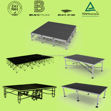 Used Portable Stages Folding Portable Stage Aluminum Stage Platform