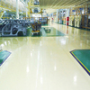 Solvent free high strength epoxy resin floor