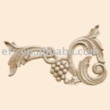 antique hand carving wooo onlay(EFS-M-086)
