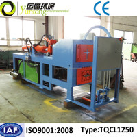 Low power consumption hydraulic driving waste tire debeader