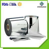 Metallized Plastic/Polypropylene/Polyester Film